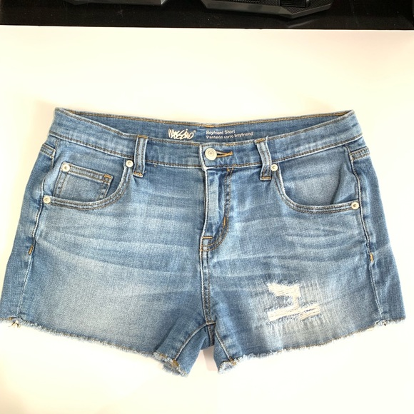 Mossimo Pants - Mossimo Distressed Boyfriend Shorts